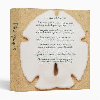 "Legend of the Sand Dollar 1"" Photo Album 3 Ring Binder"