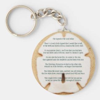 Legend of the Sand Dollar Keychain
