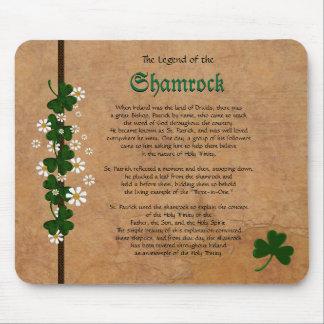 Legend of the Shamrock - Shamrocks Mouse Pad