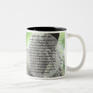 Legend of the Spanish Moss Two-Tone Coffee Mug