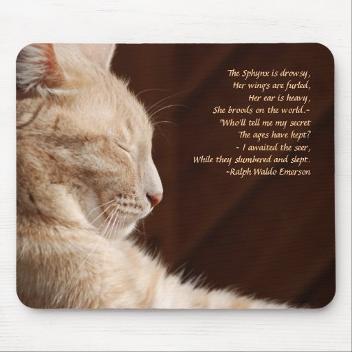 Legend of the Sphynx Mouse Mats