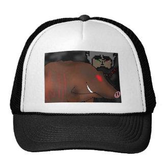 Legend of the Twilight Ninja Flame Trucker Hat