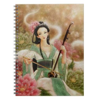Legend of the White Snake Fantasy Art Notebook