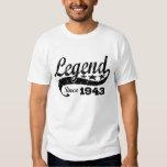 Legend Since 1943 T-shirt