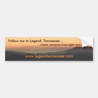 Legend Tennessee Bumper Sticker II