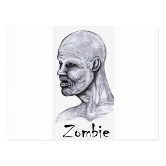 Legend Zombie Postcard