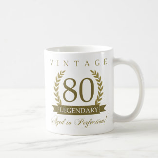 Legendary 80th Birthday Coffee Mug