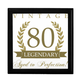 Legendary 80th Birthday Gift Box
