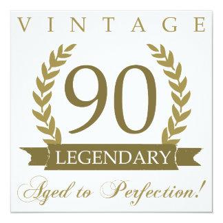 Legendary 90th Birthday Card