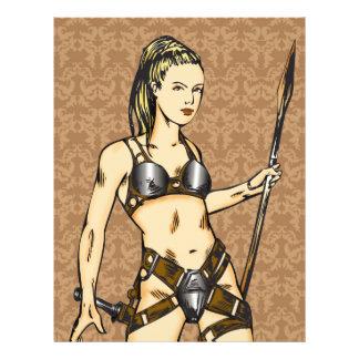 Legendary Amazon Women Custom Flyer