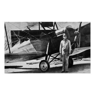 Legendary Aviator Merle Fogg Print