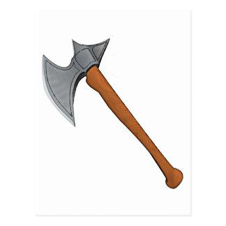 Legendary battle axe postcard