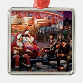 Legendary Christmas Metal Ornament