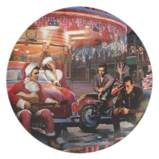 Legendary Christmas Plate