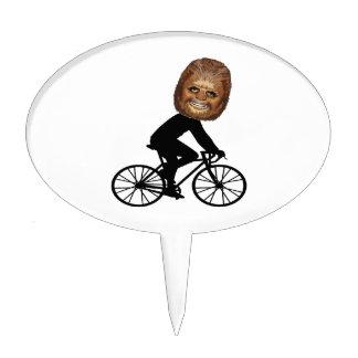 Legendary Cyclist Cake Topper