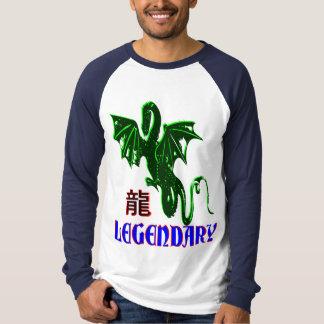 ☞♥Legendary Dragon Long Sleeve Raglan Baseball T♥☜ T-Shirt