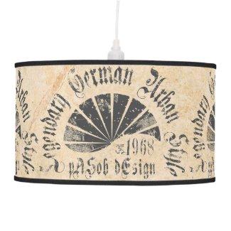 Legendary German Urban Style Ceiling Lamp
