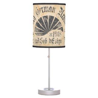 Legendary German Urban Style Table Lamp