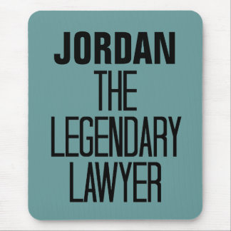 Legendary Lawyer Mouse Pad