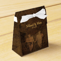 Legendary Love Storybook Gay Wedding Favor Box