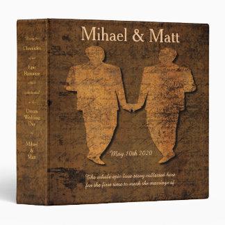Legendary Love Storybook Romance Gay Wedding Album Binder