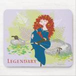 Legendary Merida Mouse Pad