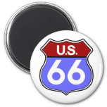 Legendary Route 66 Road Sign Magnet