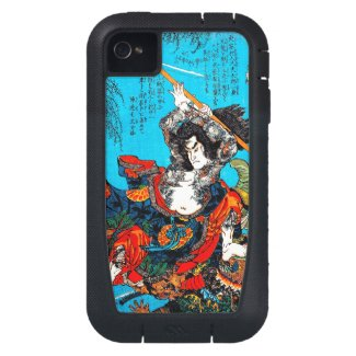 Legendary Suikoden Hero Warrior Jo Kuniyoshi art