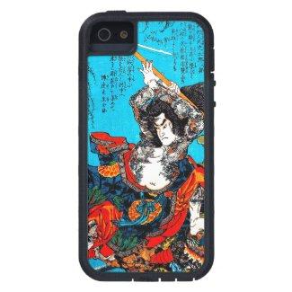 Legendary Suikoden Hero Warrior Jo Kuniyoshi art iPhone 5 Case