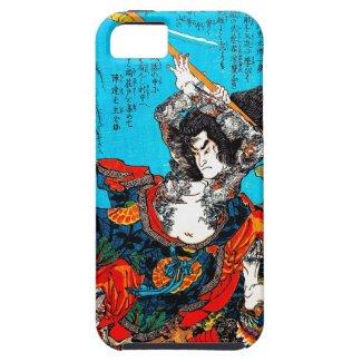 Legendary Suikoden Hero Warrior Jo Kuniyoshi art iPhone 5 Cover