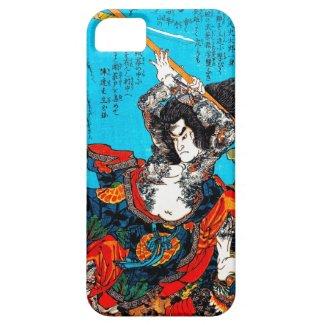 Legendary Suikoden Hero Warrior Jo Kuniyoshi art iPhone 5/5S Covers