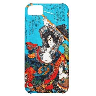 Legendary Suikoden Hero Warrior Jo Kuniyoshi art iPhone 5C Cases