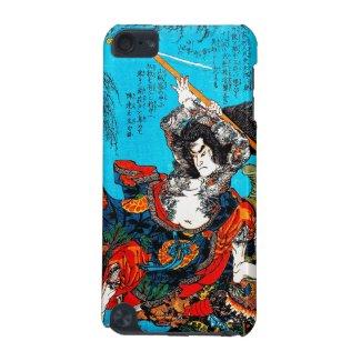 Legendary Suikoden Hero Warrior Jo Kuniyoshi art iPod Touch 5G Cases