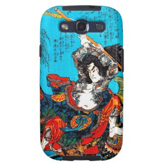 Legendary Suikoden Hero Warrior Jo Kuniyoshi art Galaxy SIII Cases