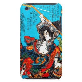 Legendary Suikoden Hero Warrior Jo Kuniyoshi art Barely There iPod Cases
