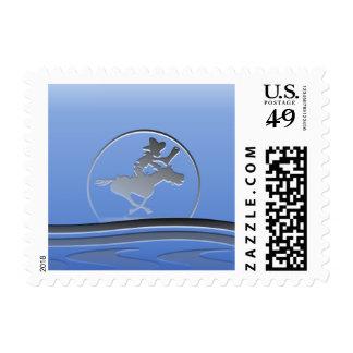 Legendary Wanderer Postage Stamp
