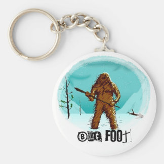 Legendary Yeti Bigfoot Big Foot Gifts Customize Keychain