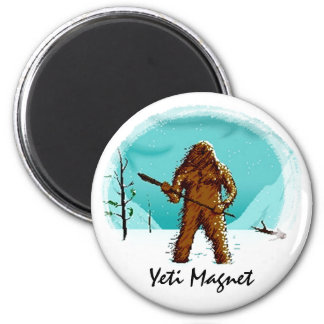 Legendary Yeti Bigfoot Big Foot Gifts Customize Magnet