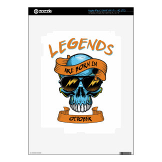 Legends Decal For iPad 3