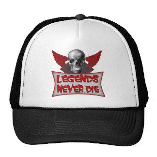 Legends Never Die Biker T shirts Gifts Trucker Hat