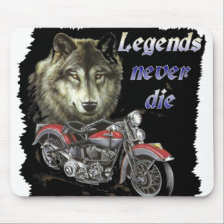 legends never die mouse pad