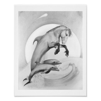 """LEGENDS of EQUUS - Secret of the Deep"" Poster"