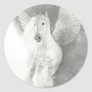 LEGENDS of EQUUS - Thunder in the Heavens Classic Round Sticker