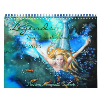 Legends- Twelve month Calender Calendar