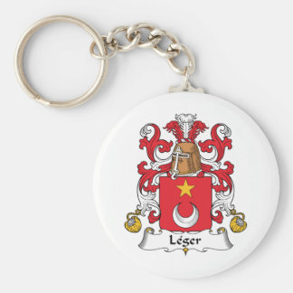 Leger Family Crest Keychains