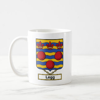 Legg Family Crest Coffee Mug