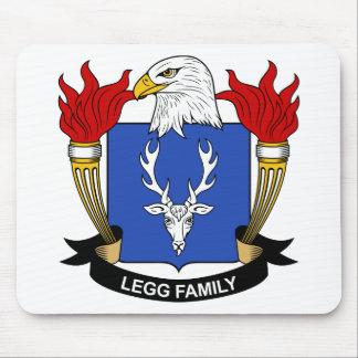 Legg Family Crest Mouse Pad