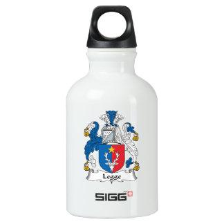 Legge Family Crest Aluminum Water Bottle