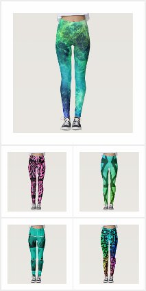 Leggings-Colorful, cool and funky