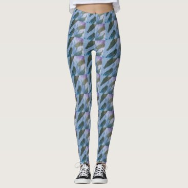 gwena2009 Leggings with abstract design.